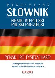 Praktyczny słownik niemiecko-polski polsko-niemiecki ZAKŁADKA DO KSIĄŻEK GRATIS DO KAŻDEGO ZAMÓWIENIA