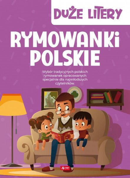 Rymowanki polskie. Duże litery ZAKŁADKA DO KSIĄŻEK GRATIS DO KAŻDEGO ZAMÓWIENIA