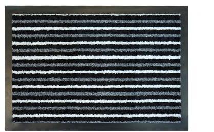 Wycieraczka podgumowana NEON antracyt Fluorescencyjna 40x60 cm