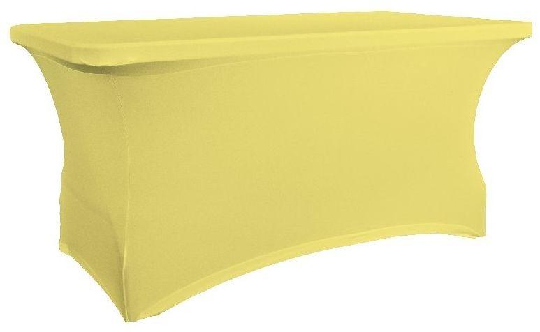 Pokrowiec na stół 150 cm kanarkowy