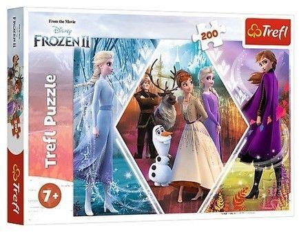 Puzzle Trefl 200 - Siostry w Krainie Lodu, Sisters in Frozen