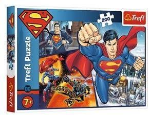 Puzzle Trefl 200 - Superman - Bohater, Superman - Hero