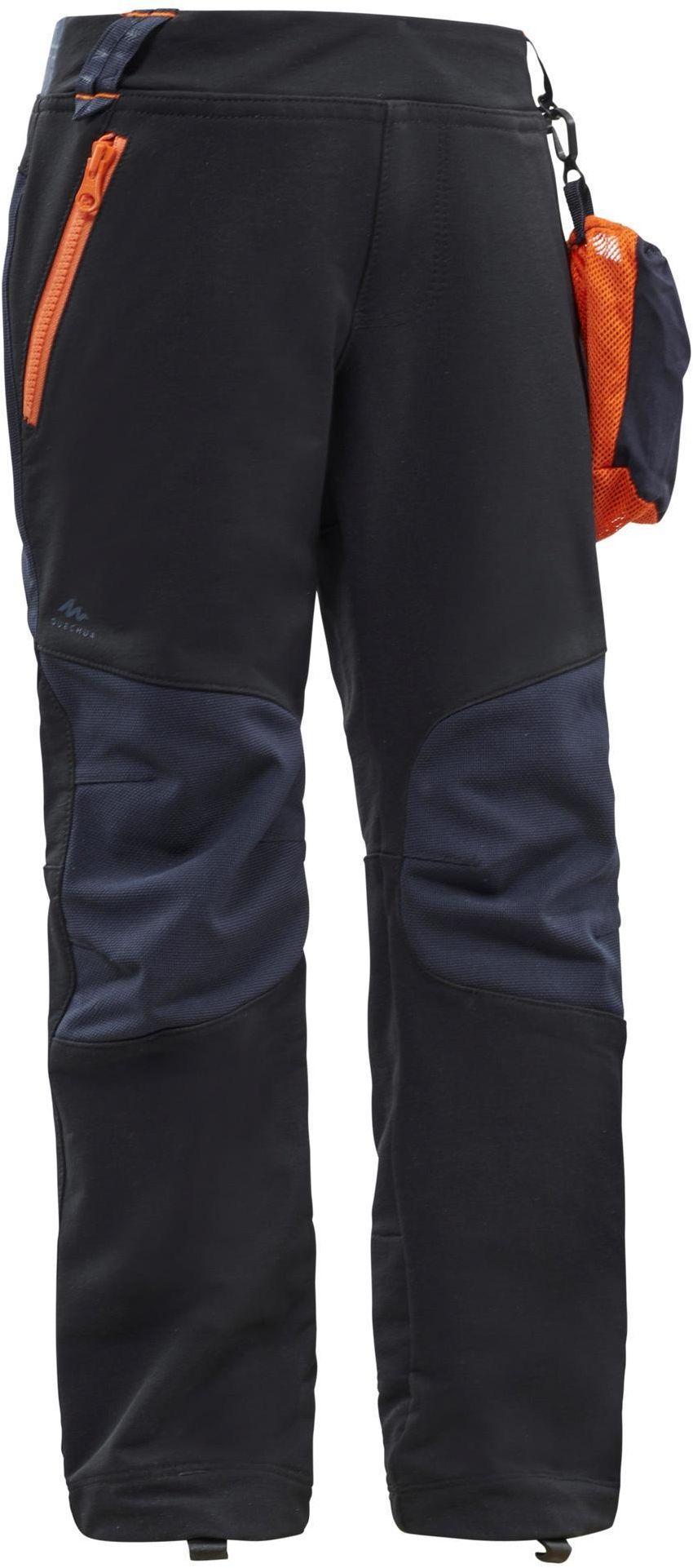 Spodnie softshell turystyczne dla dzieci Quechua MH550