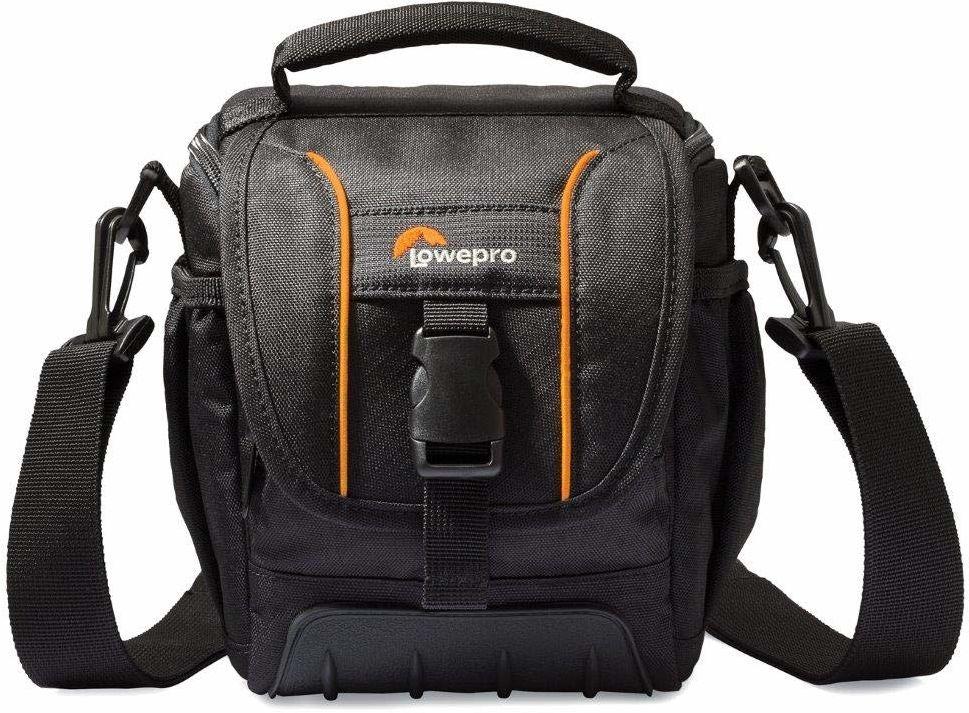Lowepro LP36864-0WW, SH 120 II torba na przygodę do aparatu, kompaktowy rozmiar, pasuje do DSLR z dołączonym zestawem soczewkami, kartą pamięci, małymi akcesoriami