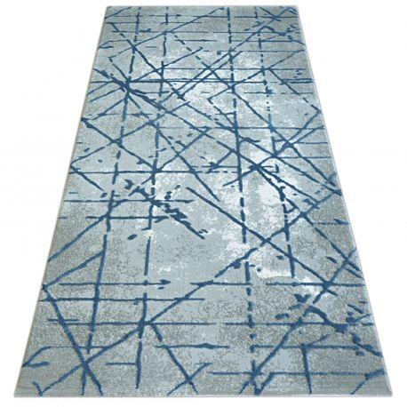 Dywan VALS 3949 c.grey/blue 80x150 cm