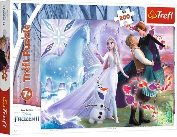 Puzzle Trefl 200 - Magiczny świat sióstr, Magic sister''s world