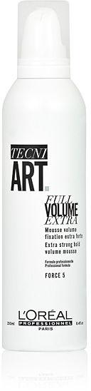 """Loreal Tecni Art Full Volume Extra """"5"""" Pianka nadająca włosom ekstra objętość 250 ml"""