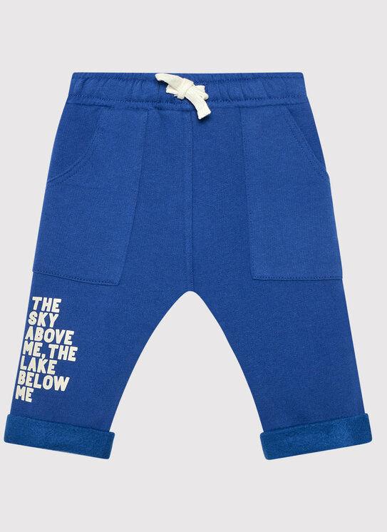 Spodnie dresowe 3EB5I0507 Niebieski Regular Fit