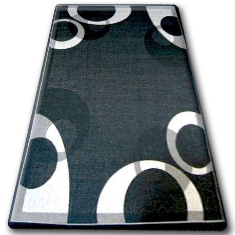 DYWAN SZNURKOWY SIZAL FLOORLUX 20078 CZARNA / srebrny 60x110 cm