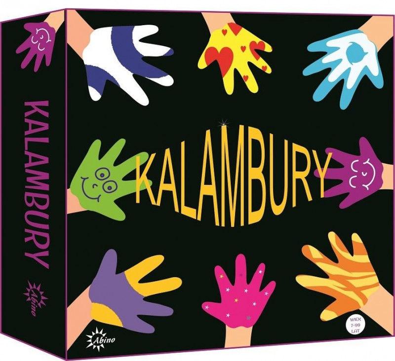 Kalambury ABINO ZAKŁADKA DO KSIĄŻEK GRATIS DO KAŻDEGO ZAMÓWIENIA