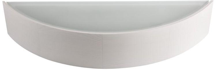 Kinkiet drewniany 60W E27 230V biały dąb JASMIN W-W 23757