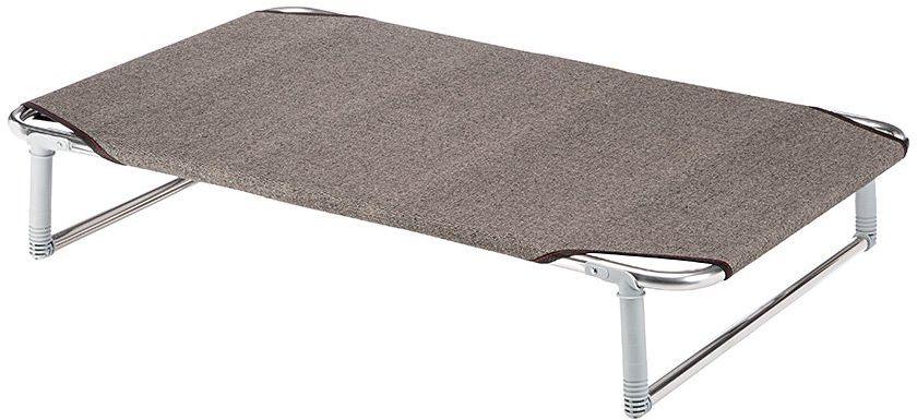 Ferplast Dream 100 składane łóżko dla psów, ciemnobrązowe, 105 x 63 x 7 cm