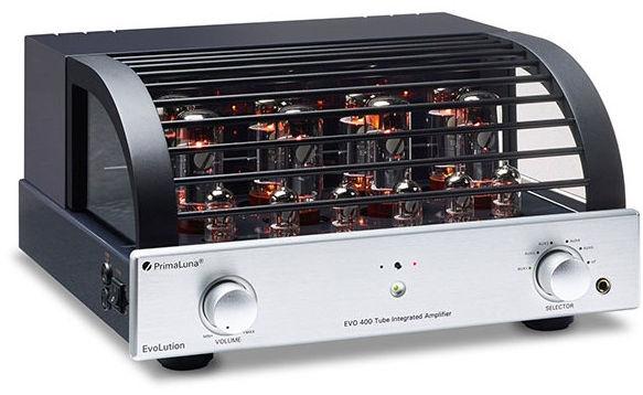 PrimaLuna EVO 400 silver - Zintegrowany wzmacniacz lampowy +9 sklepów - przyjdź przetestuj lub zamów online+