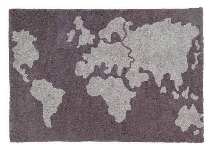 Dywan do prania w pralce mapamundi, lorena canals 140 x 200 cm