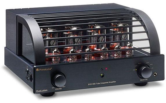 PrimaLuna EVO 400 black - Zintegrowany wzmacniacz lampowy +9 sklepów - przyjdź przetestuj lub zamów online+