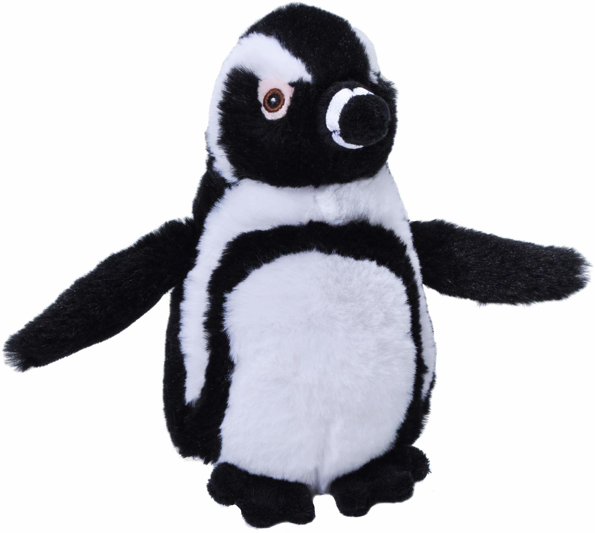 Wild Republic 25082 Ecokins Blackfoot pingwin wypchane zwierzę 20 cm plusz