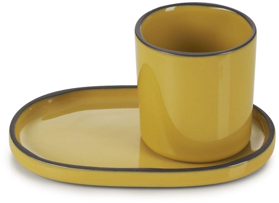 Filiżanka do espresso Caractere kurkuma 80 ml