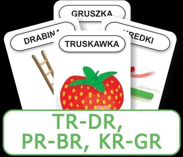Logopedyczny Piotruś. Część XIV - TR-DR, PR-BR, KR - KOMLOGO