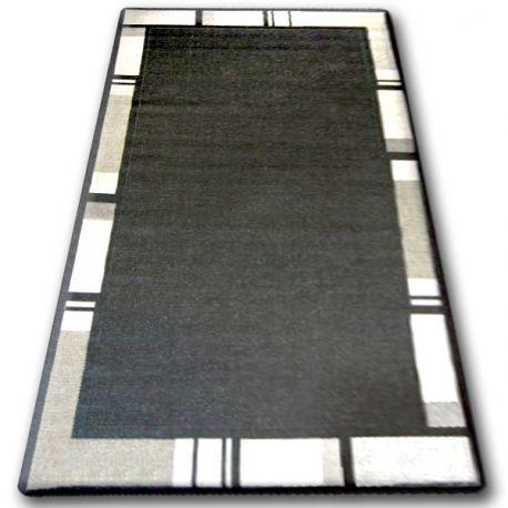 DYWAN SZNURKOWY SIZAL FLOORLUX 20195 CZARNA / srebrny 60x110 cm