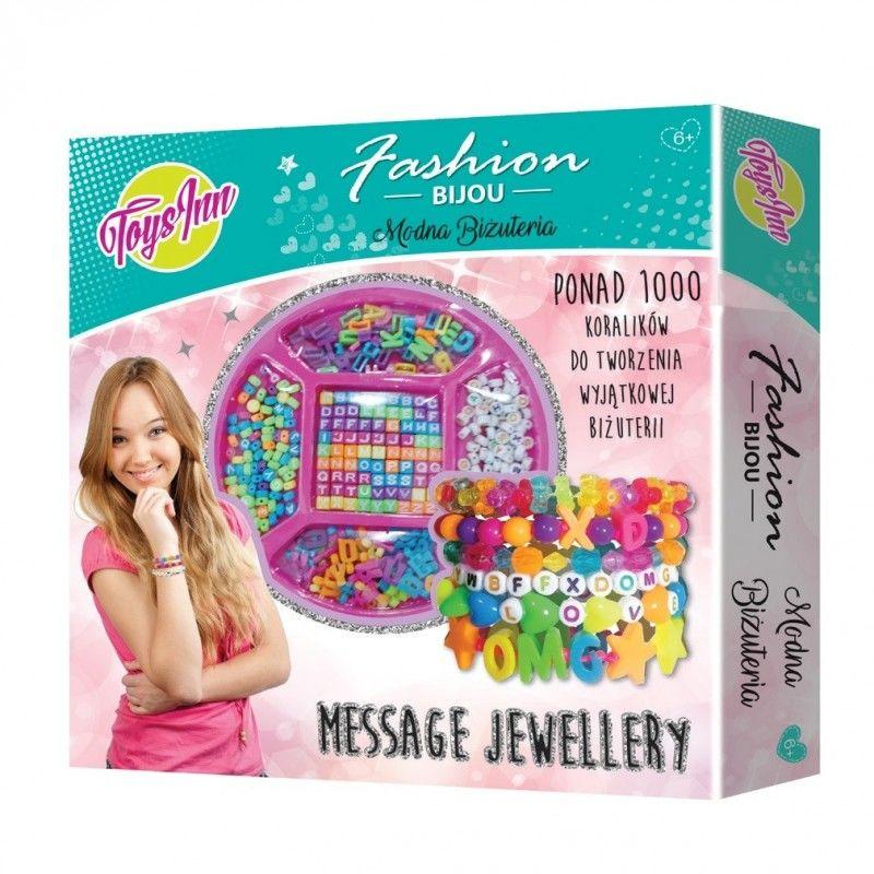 Message Bracelet - Zestaw biżuterii do samodzielnego wykonania