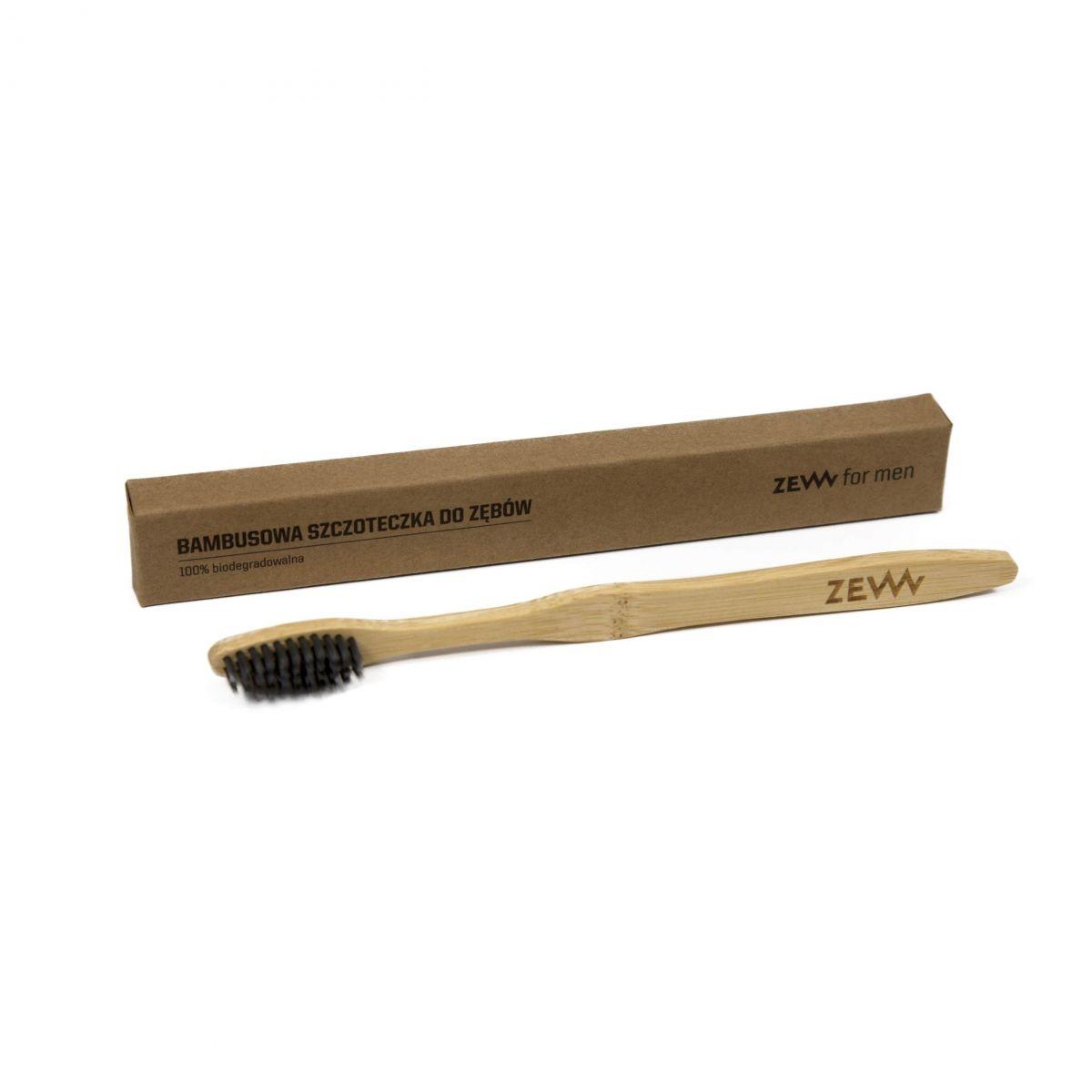 Bambusowa szczoteczka do zębów z węglem aktywnym - ZEW