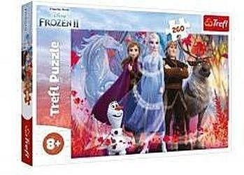 Puzzle TREFL 260 - Frozen II - W poszukiwaniu przygód, In search of adventures