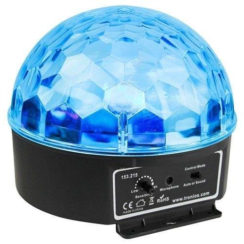 BeamZ Półkula Mini Star Ball RGBWA LED 6x 3W, efekt dyskotekowy LED