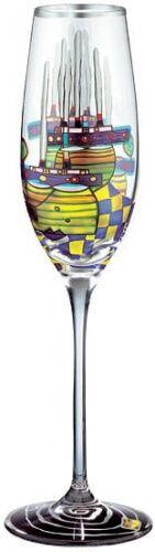 Kieliszek do wina Pacific steamer Hundertwasser