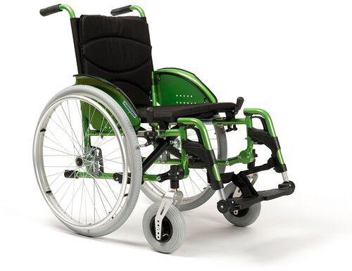 Wózek inwalidzki ręczny ze stopów lekkich Vermeiren V200 GO