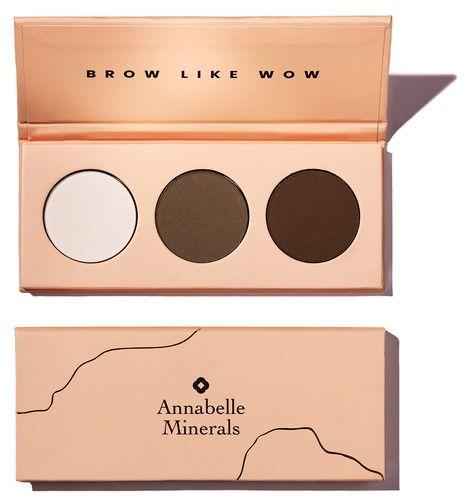 Paleta cieni do brwi BROW LIKE WOW - 3x1,3g - Annabelle Minerals