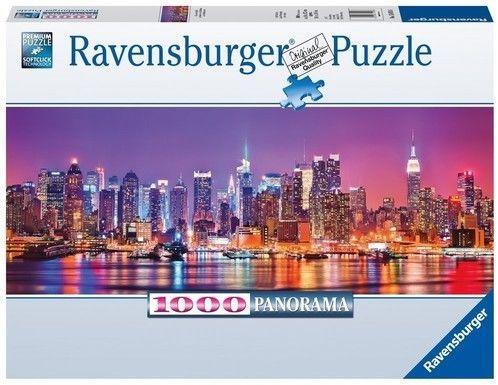 Puzzle Ravensburger 1000 - Światła Manhatanu, Manhattan lights