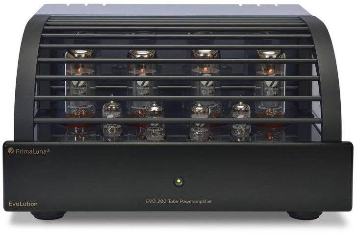 PrimaLuna EVO 200 black - Lampowy wzmacniacz mocy +9 sklepów - przyjdź przetestuj lub zamów online+