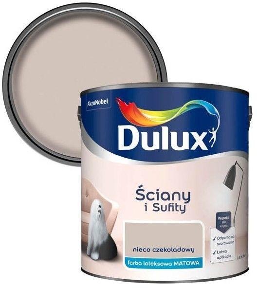 Farba Dulux Ściany i Sufity nieco czekoladowy 2,5 l