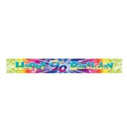 Amscan Banner folia 90. urodziny