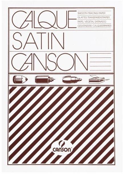 Kalka kreślarska CANSON 17-120 - A4, 110/115 g/m2, 100 arkuszy (17-120)