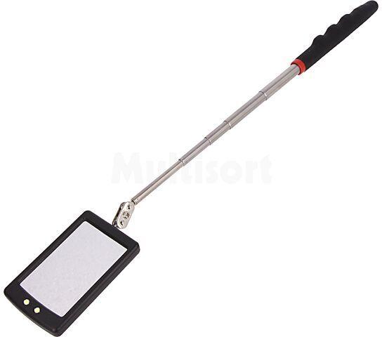 Lusterko inspekcyjne fi76mm LED z wysięgnikiem 870mm