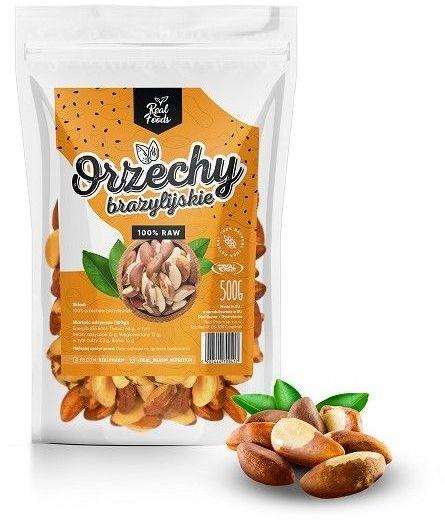 Real Foods - Orzechy Brazylijskie 500g