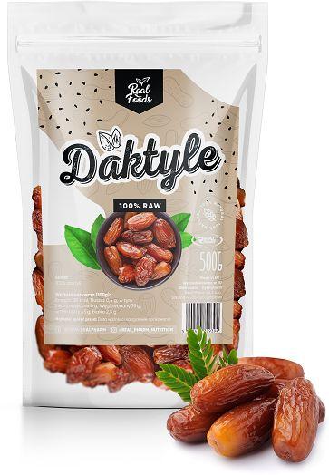 Real Foods - Daktyle Suszone 500g