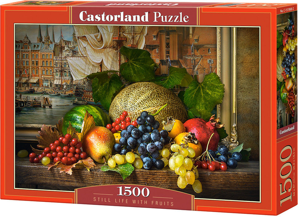 Puzzle Castorland 1500 - Martwa natura z owocami, Still Life with Fruits
