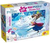 Puzzle dwustronne Maxi 108 Frozen - Lisciani