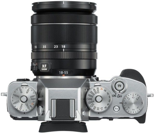 Aparat Fujifilm X-T3 silver + 18-55 mm f/2.8-4 XF OIS