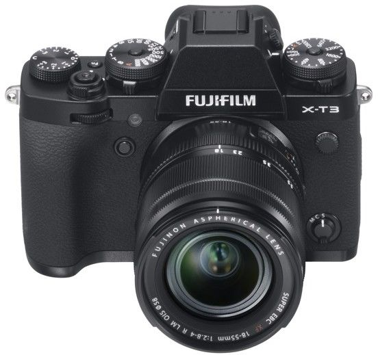 Aparat Fujifilm X-T3 black + 18-55 mm f/2.8-4 XF OIS Rabat 860 zł