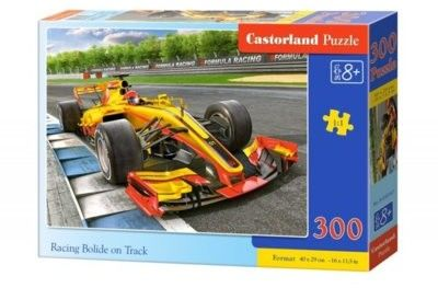 Puzzle Castor 300 - Bolid na torze, Racing Bolide on Track