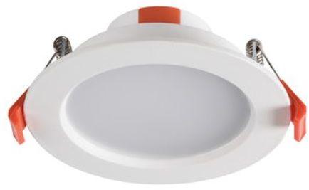 Oprawa downlight 8W LED 230V 4000K 550lm LED LITEN LED 8W-NW 25563