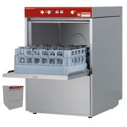 Zmywarka do szkła kosz 400x400mm zmiękczacz 3400W 465x550x(H)710mm
