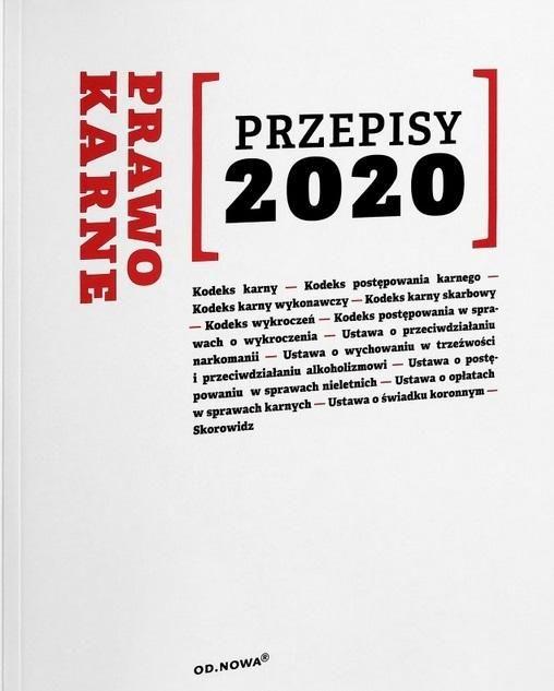 Prawo Karne Przepisy 2020 ZAKŁADKA DO KSIĄŻEK GRATIS DO KAŻDEGO ZAMÓWIENIA