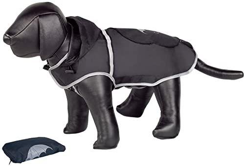 Nobby Rainy Dog płaszcz przeciwdeszczowy, 26 cm, czarny