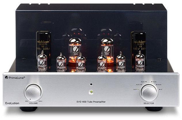 PrimaLuna EVO 400 silver - Referencyjny przedwzmacniacz lampowy +9 sklepów - przyjdź przetestuj lub zamów online+