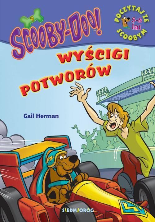 Scooby-Doo! Wyścigi potworów. Poczytaj ze Scoobym - Gail Herman - ebook