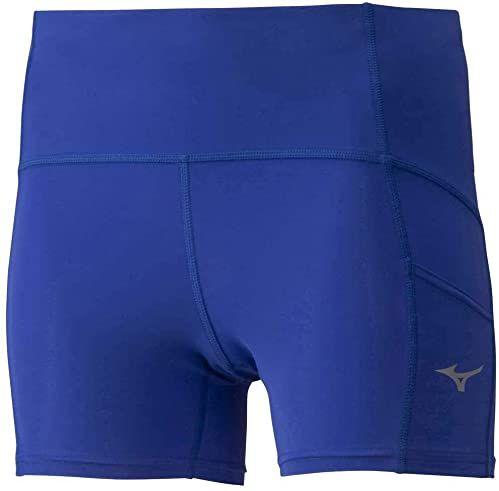 Mizuno Męskie krótkie spodenki Core Short Tight niebieski niebieski (Dazzling Blue) l